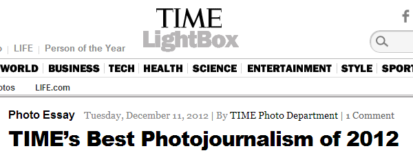 Best Photojournalism 2012- Pictures of Syria, Obama, Hurricane Sandy - LightBox