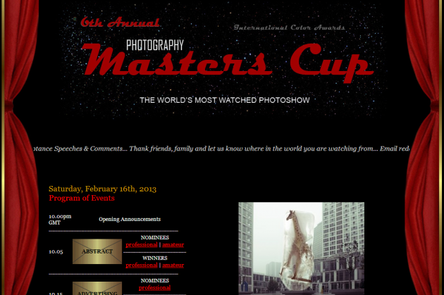 6th Photoshow - Photography Masters Cup™