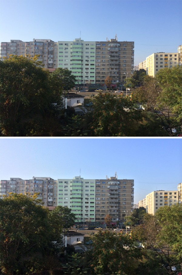 iPhone 5S - HDR off vs. HDR on