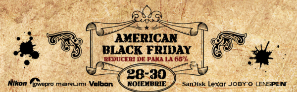 Black Friday la Yellowstore