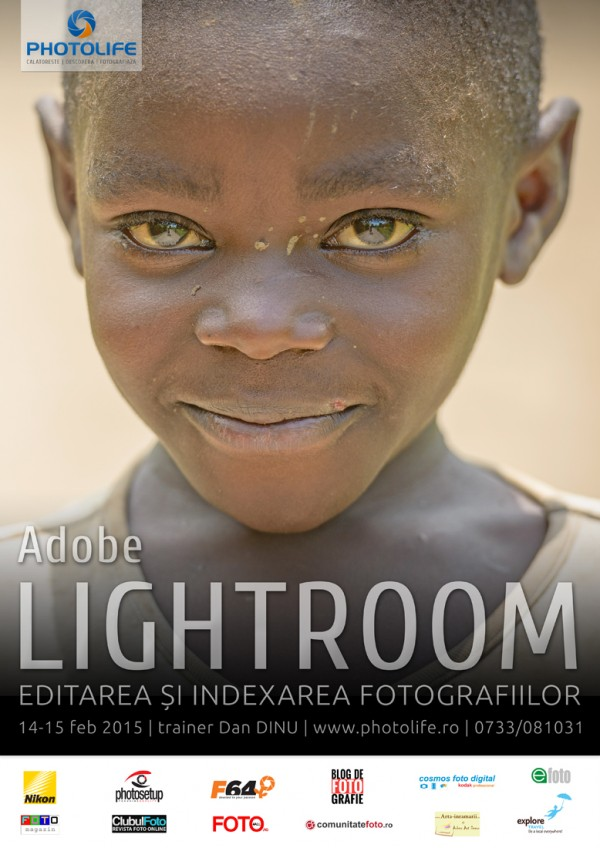 Workshop de editare a fotografiilor în Adobe Lightroom
