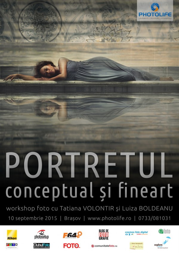 Workshop foto: Portret conceptual și Fine Art (10-13 septembrie)
