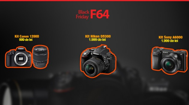 Black Friday 2015 la F64