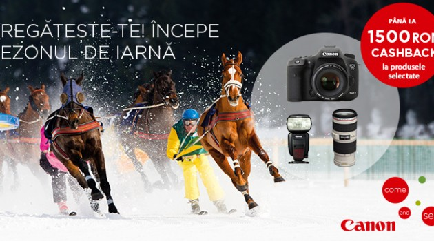 Canon Winter Cashback 2015