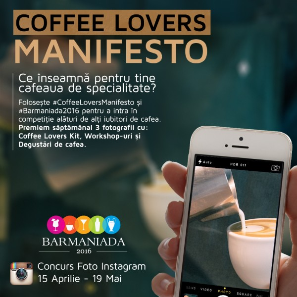 Coffee Lovers Manifesto